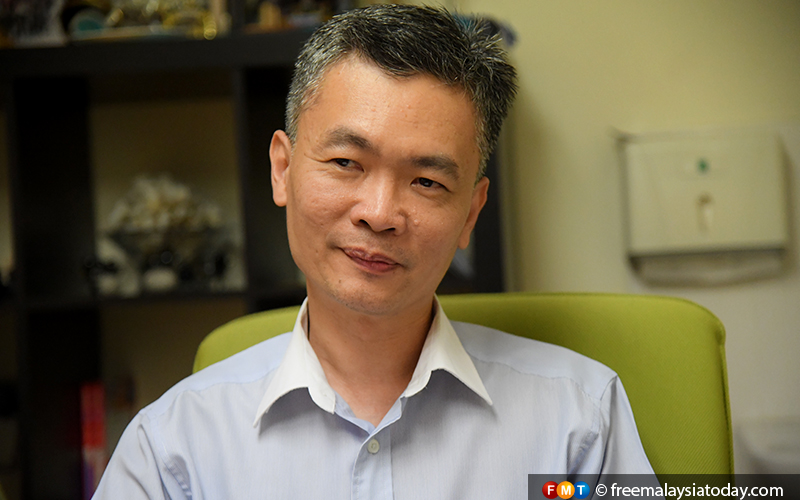 Wong Teck Wee, president of the Malaysian Healthy Ageing Society