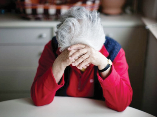 Loneliness among the elderly is a public health issue. Pix source: independent.co.uk